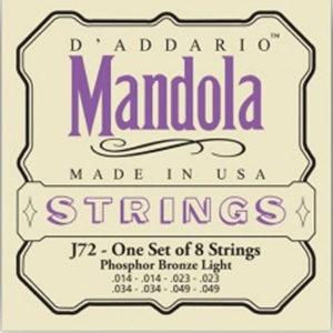 DAddario J72 Mandola 14-49