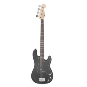 Chord CAB41-BK P-Style Bass Guitar in Black