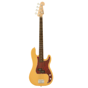 Chord CAB41M-BTHB P-Style Bass Guitar in Butterscotch