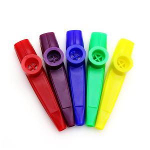 Plastic Coloured Kazoo