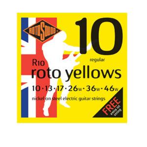 Rotosound R10 Yellows 10-46