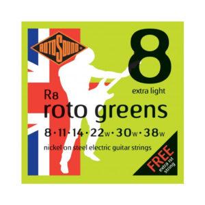 Rotosound R8 Greens 8-38