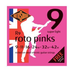 Rotosound R9 Pinks 9-42