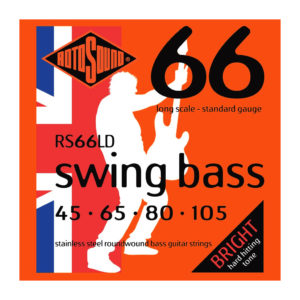 Rotosound RS66LD Long Scale Stainless Steel Swing 66 Bass Strings 45-105