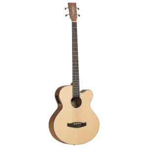 Tanglewood Discovery Exotic DBT AB BW Electro-Acoustic Bass
